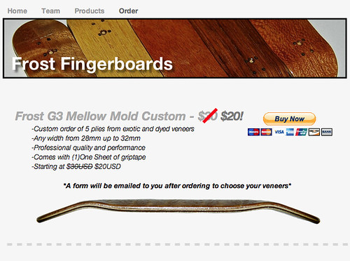 Frost Fingerboards (T-Shirts, iPhone Cases, Coffee Mugs In Stock, page 12) 8611486069_9f8109c69b