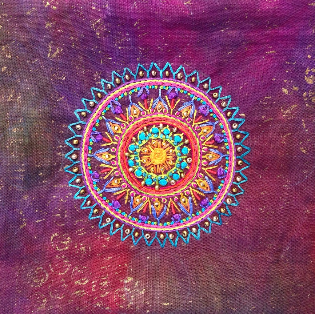 Embroidered Mandala (update)