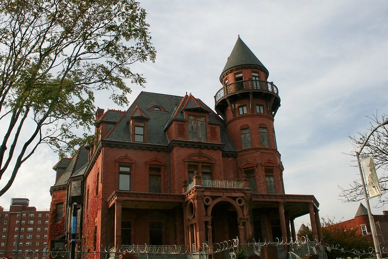 Krueger Mansion (abandoned) in Newark NJ
