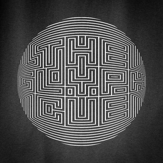 Labyrinth Letterformations.