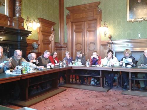 Rathausführung für 35 Belgier