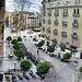 Granada,  Plaza del Campillo, desde Edif. Macia