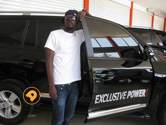 8620904623 5bcfae8a7b z Lifestyle of the Rich and Famous: Kwaw Kese goes car shopping