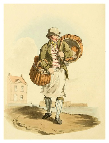 011-Panadero- Picturesque representations of the dress and manners of the English-1813-William Alexander