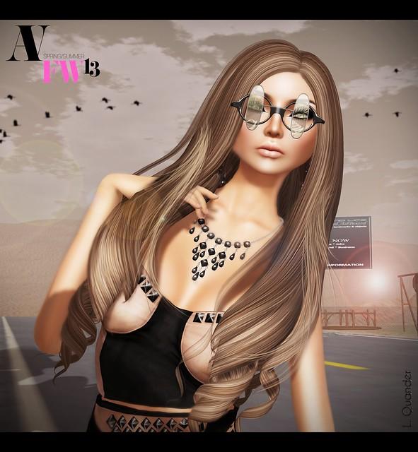Belleza - Mya BB Sk 02 & LaGyo Fran Sunglasses- Black
