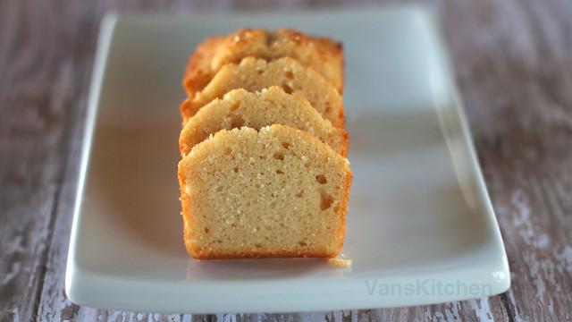 Okara butter cake (Bánh đậu nành)