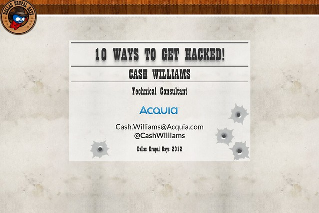 10 Ways to Get Hacked