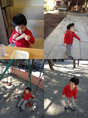 朝の散歩 2013/4/8