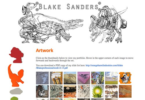 Blake's New Website