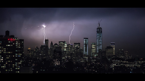 April Thunderstorm III - South Manhattan