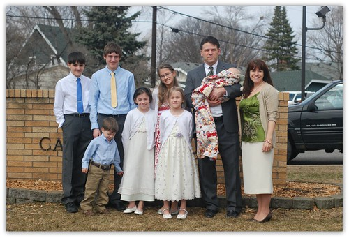 Easter Family Photo 2013