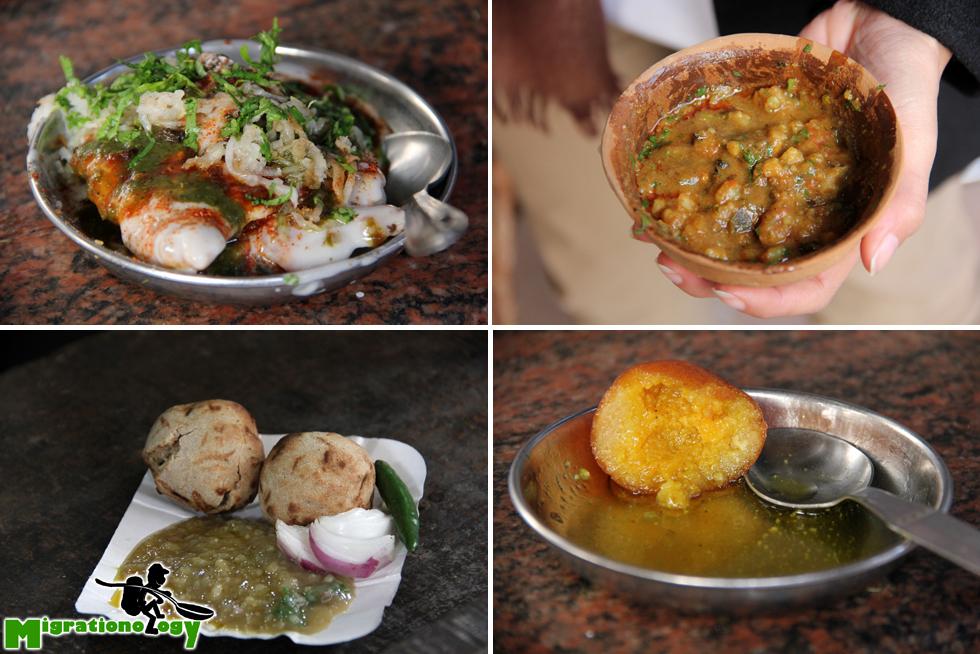 Tasty snacks in Varanasi, India