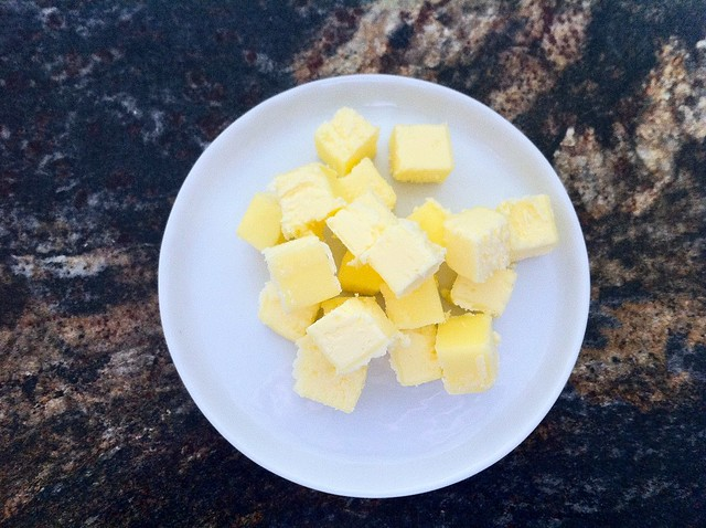 Diced Unsalted Butter