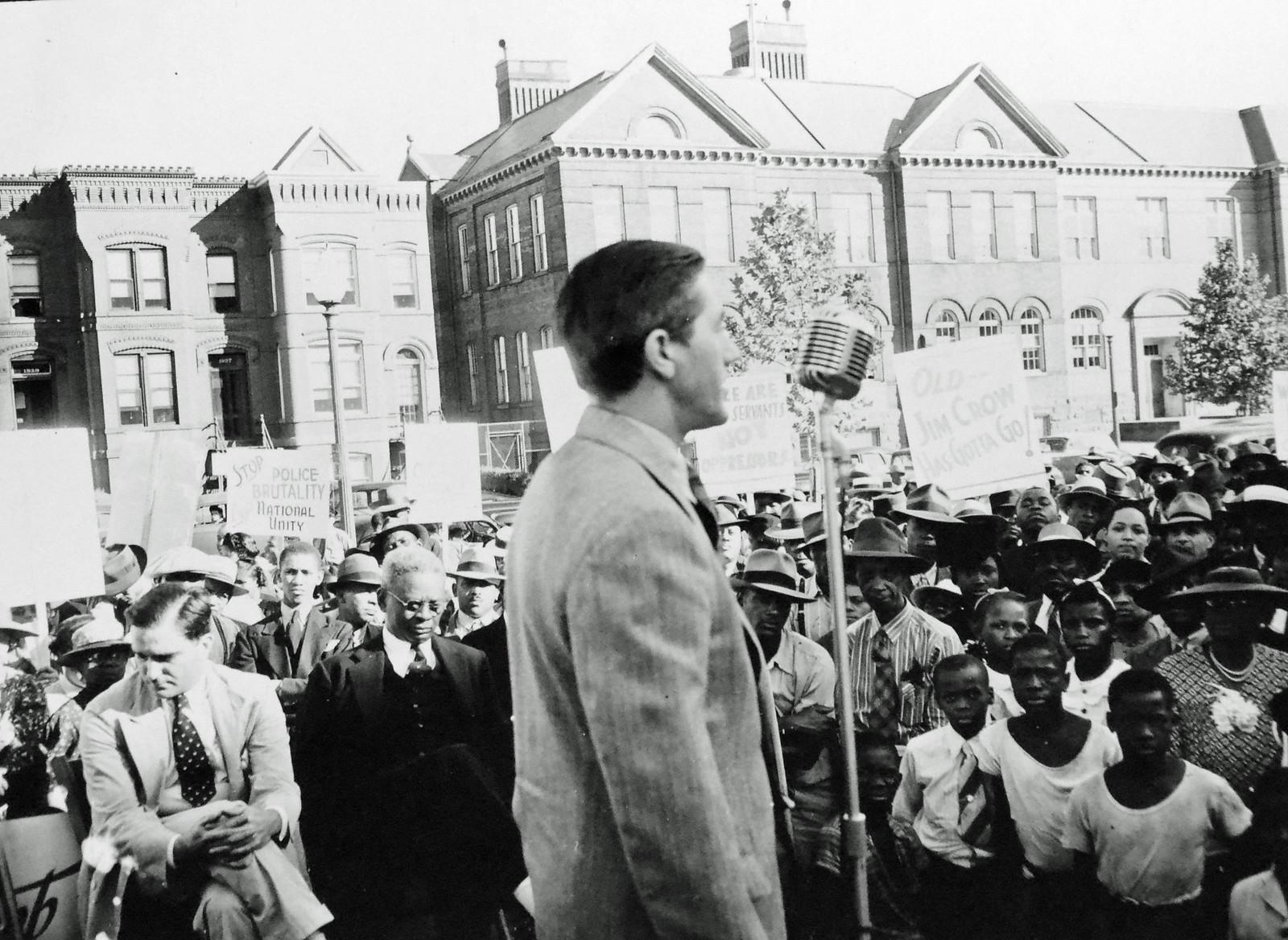 CIO Union Speaks Against DC Police Brutality: 1941