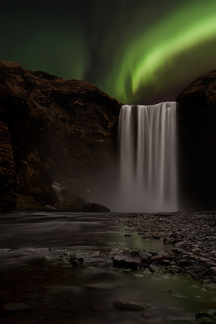 Skogafoss Vs Northern Light