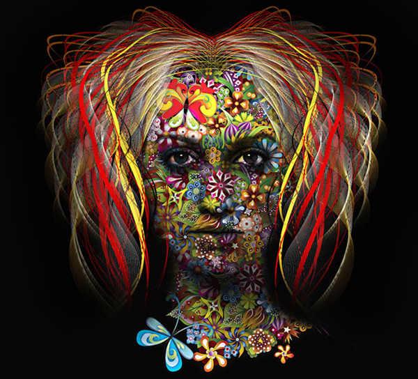 ilustraciones llenas de color