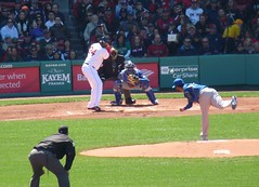 Big Papi at bat