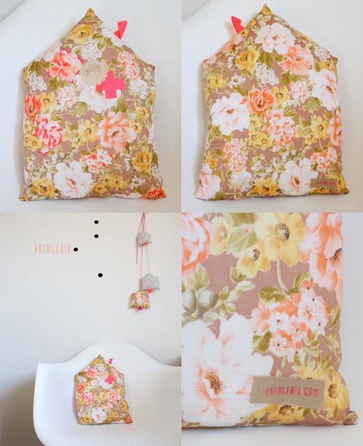 cuscini floreali granny chic Etsy Shop Artoleria