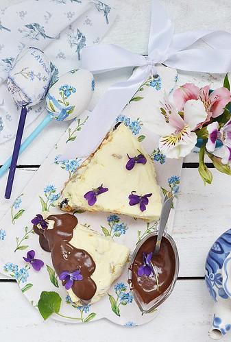 Easter cheesecake.