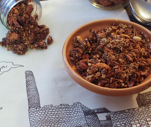 Quinoa & Hemp Seed Granola