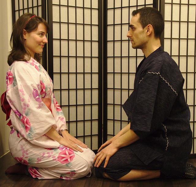 0853 - Con los Kimonos