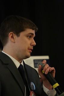 Public Relations Coordinator Brayden Mann