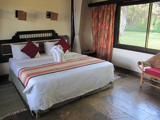 Bedroom at Sarova Shaba Lodge