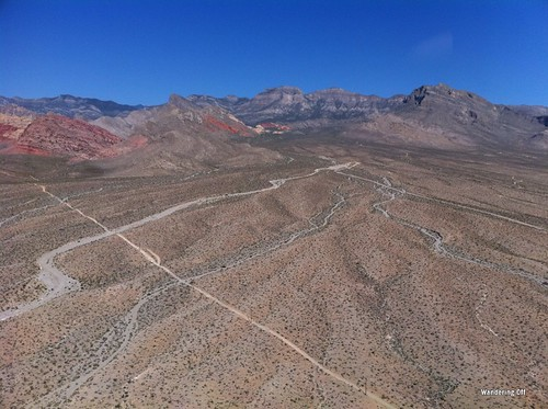 helicopter ride near Red Rock