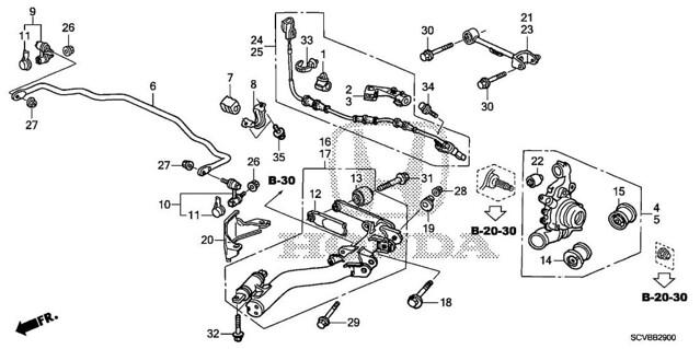 2003 honda element parts diagram bushings  honda  auto