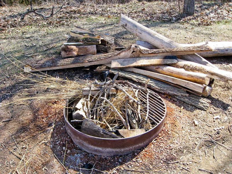Campfire at Afton