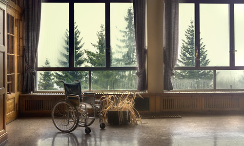 Abandoned Alpine hospital by andre govia.