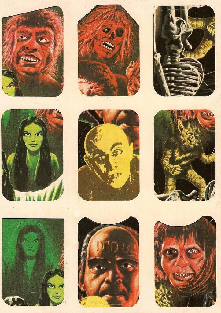 Horror Movie Stickers - 4