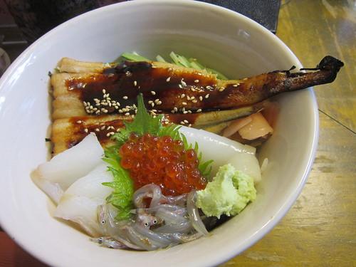 地魚丼(大船渡市屋台村) by Poran111