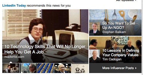 LinkedIn Front Page 2013-05-04