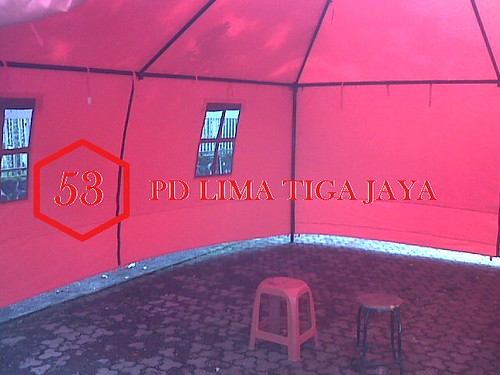 tenda promosi / gazebo / cafe