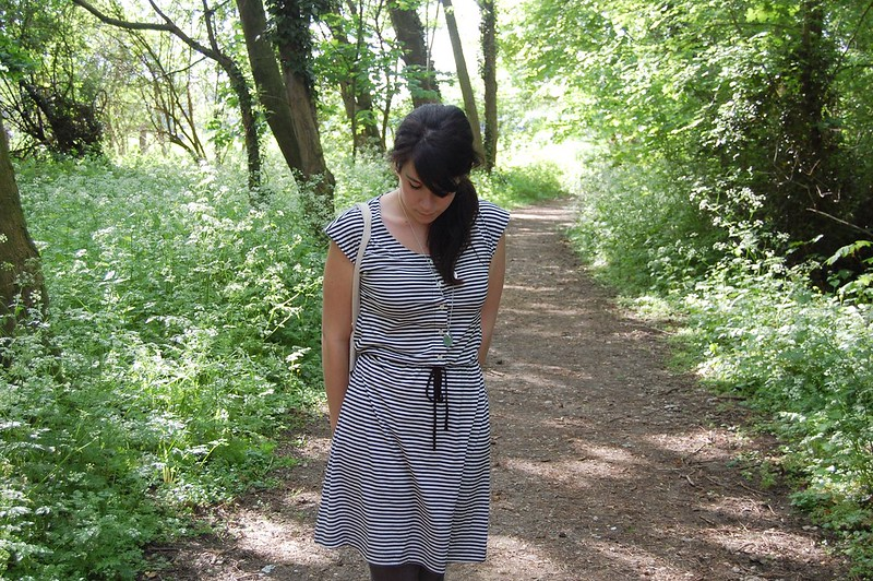 mandarines stripe dress