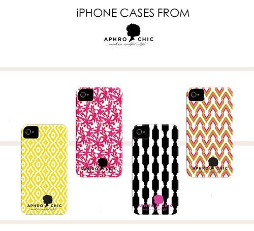 New AphroChic iPhone Cases