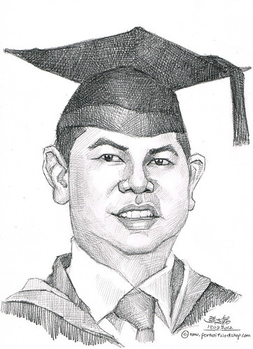 guy portrait in pencil 18082012