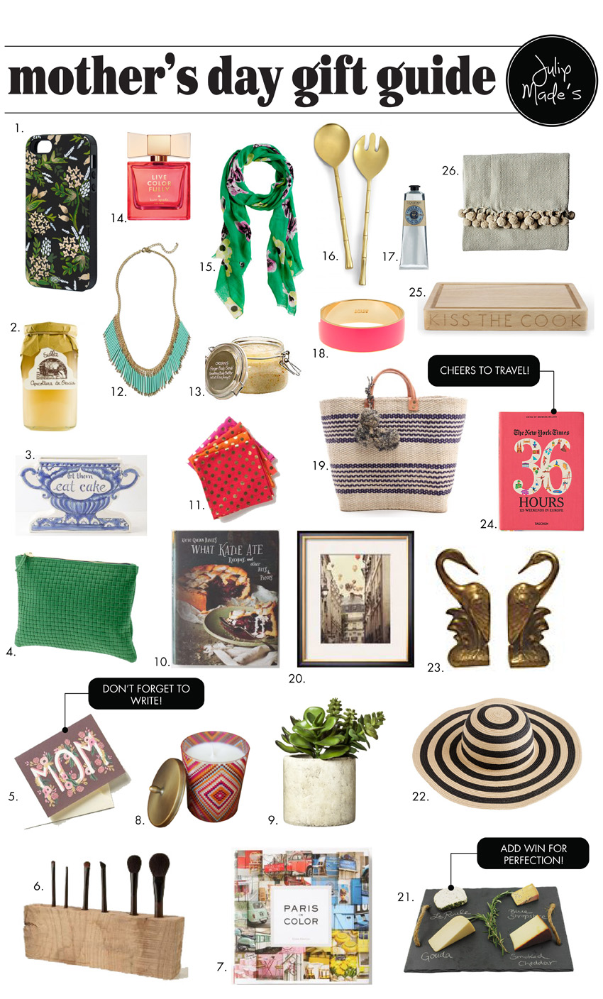Julip Made mothers day gift guide