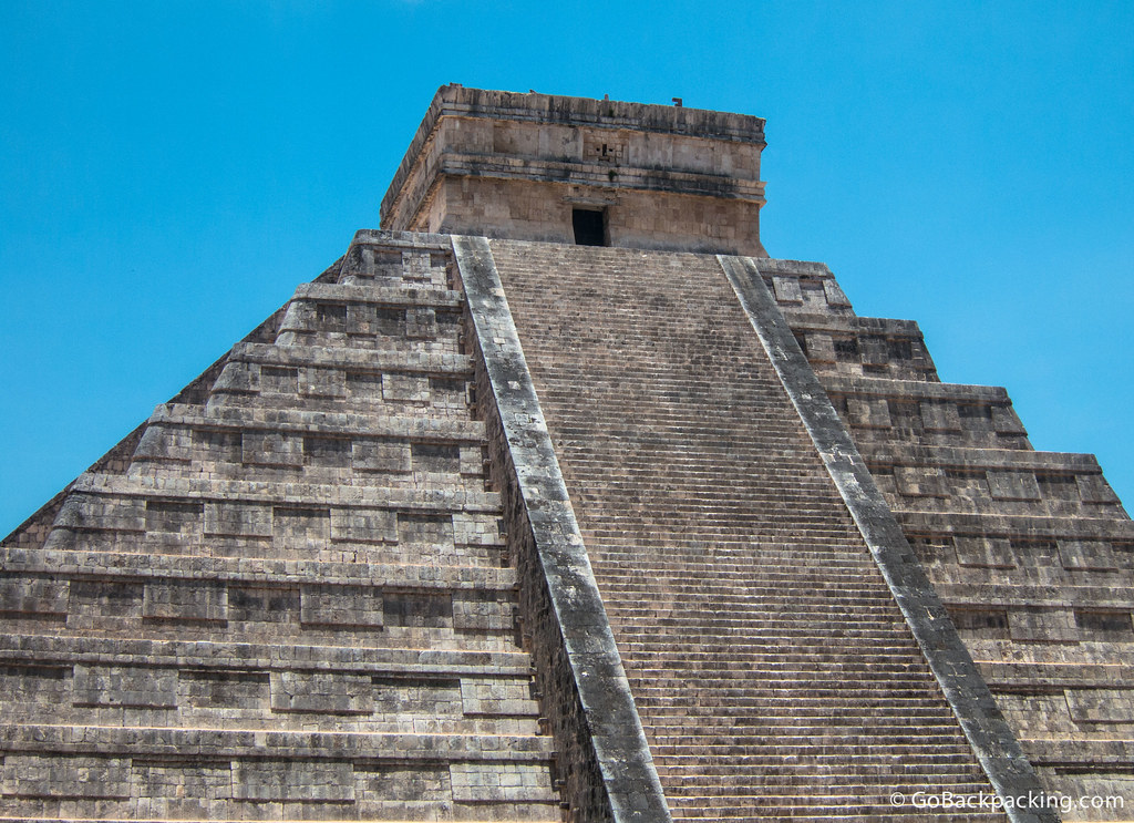 For safety reasons, tourists are no longer allowed to climb El Castillo