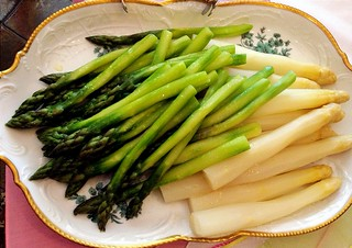 Asparagus ... Part of menu ...