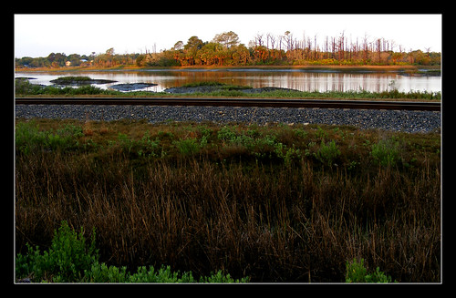 railroad nature water landscape florida railway rails staugustine supershot sansebastianriver