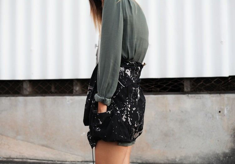 Modern Legacy Fashion Blog Australia Witchery shirt dress Zimmermann anorak details (1 of 1)