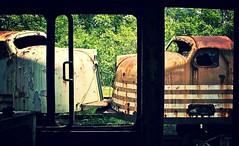 Locomotive from inside