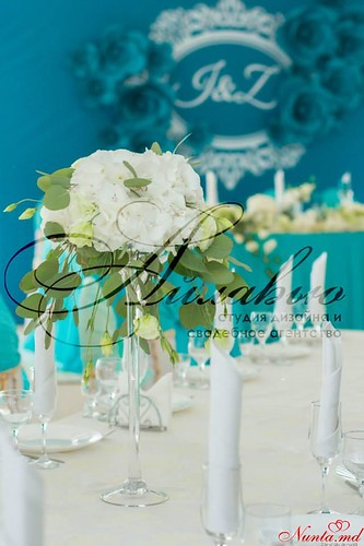 """Decor pentru nuntă şi floristică de la Agentia  """"Айлавью""""  >  O nuntă modernă și elegantă - visul multor cupluri tinere."""
