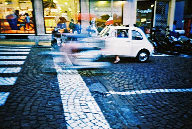 Twilight scooter blur