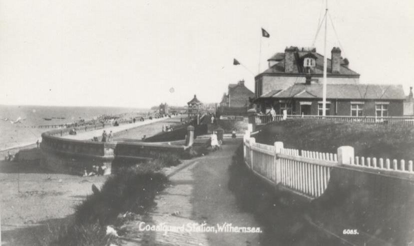 Withernsea Coastguard Station 1911 (archive ref DDEY-1-90)