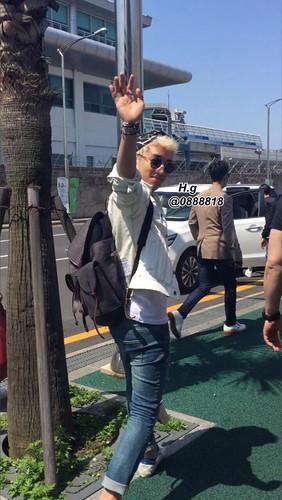 Seungri Arrival Jeju 2015-05-19