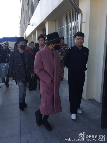 Big Bang - Harbin Airport - 21mar2015 - Kimsoohyun0223 - 07