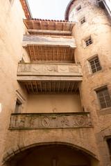 La cour intérieure - Photo of Jeansagnière